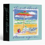 Beach Guest Book Binder