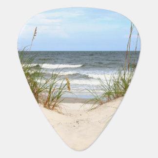 Beach Guitar Pick