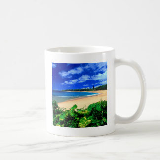 Beach Haena Kauai Hawaii Coffee Mug