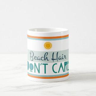 Beach Hair, Don't Care Coffee Mug