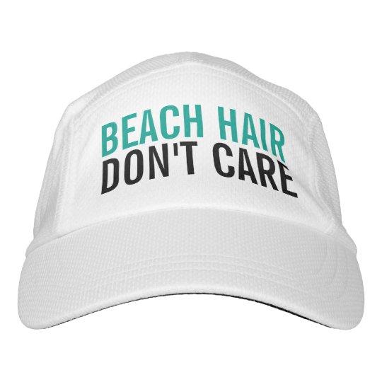a0dbdb6807d Beach Hair Don t Care Cute Funny Fashion Women s Hat