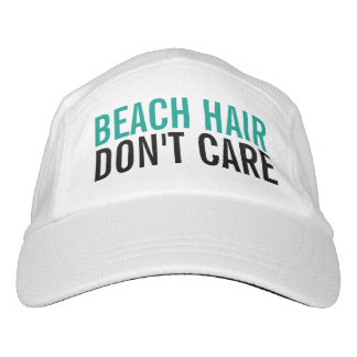 Beach Hair Don't Care Cute Funny Fashion Women's Headsweats Hat