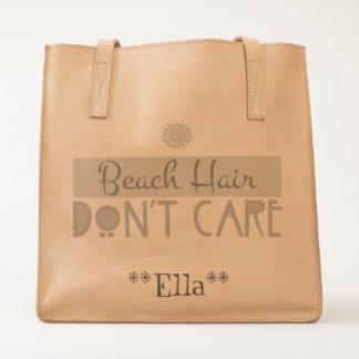 Beach Hair, Don't Care Tote