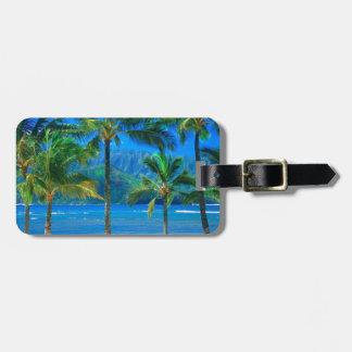 Beach Hammock Kauai Hawaii Bag Tags