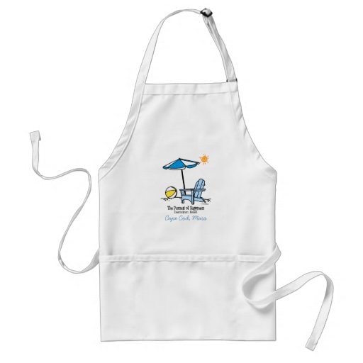 Beach Happy Gifts Adult Apron
