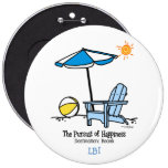 Beach Happy Gifts Buttons