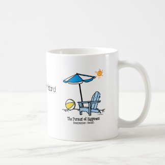 Beach Happy Gifts Coffee Mug