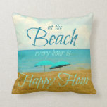 BEACH HAPPY HOUR PILLOW