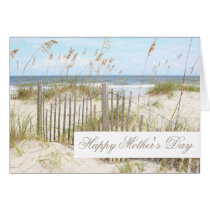 Beach Happy Mother's Day Card
