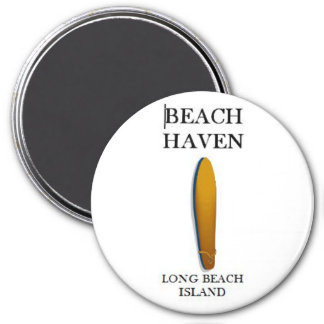Beach Haven, Long Beach Island Custom Car Magnet 1