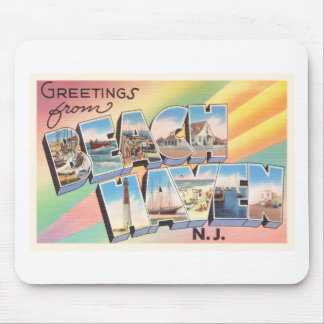 Beach Haven New Jersey NJ Vintage Travel Postcard- Mouse Pad