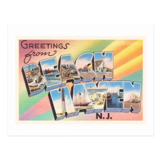 Beach Haven New Jersey NJ Vintage Travel Postcard- Postcard