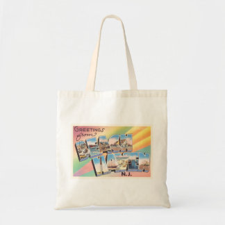 Beach Haven New Jersey NJ Vintage Travel Postcard- Tote Bag