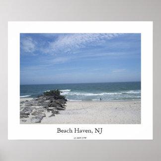 Beach Haven, NJ Poster