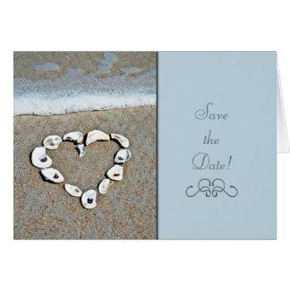 Beach Heart Card