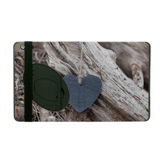 Beach Heart iPad Folio Cases