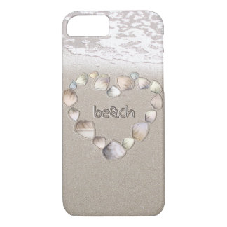 Beach Heart iPhone 8/7 Case