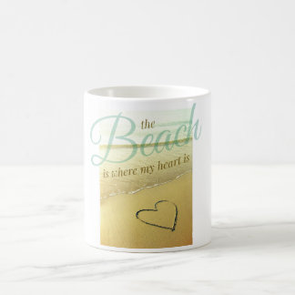 Beach Heart Mug