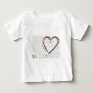 Beach Heart of Sand Baby T-Shirt