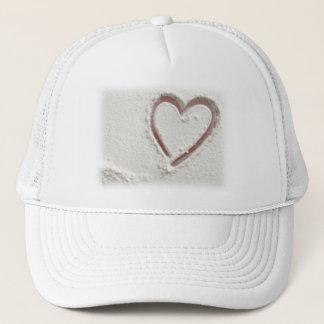 Beach Heart of Sand Trucker Hat