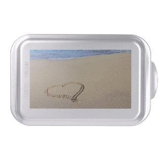 Beach Hearts In Sand Cake Pan