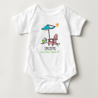 Beach Heaven Baby Bodysuit
