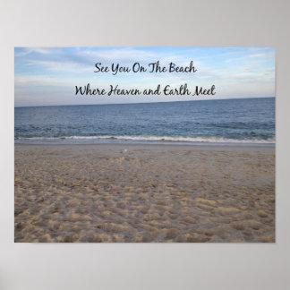 Beach Heaven Poster