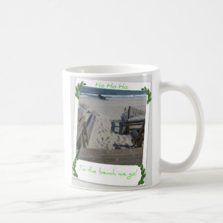 Beach Ho Ho Ho Coffee Mug