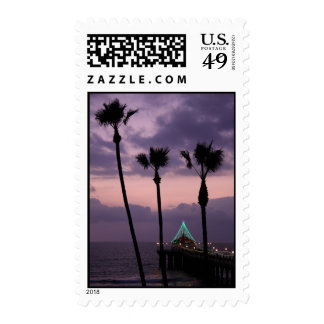 Beach holiday stamps