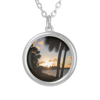 Beach Home Silver Plated Necklace