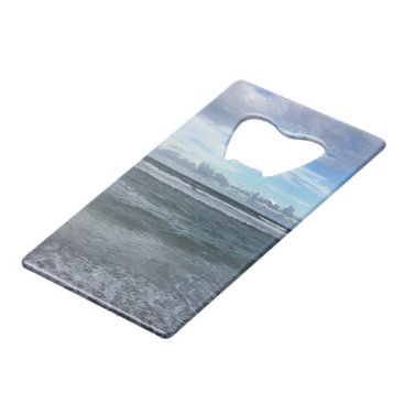 Beach Horizon Credit Card Bottle Opener