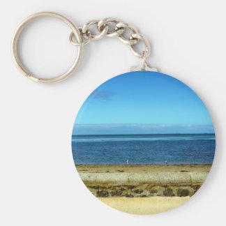 Beach horizon keychain