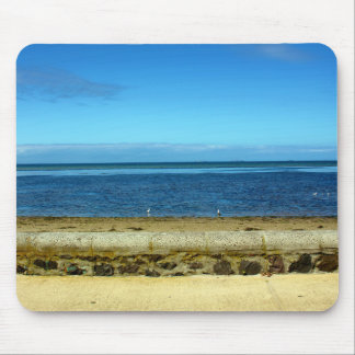 Beach horizon mouse pad