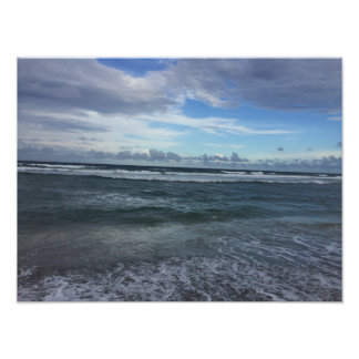 Beach Horizon Poster