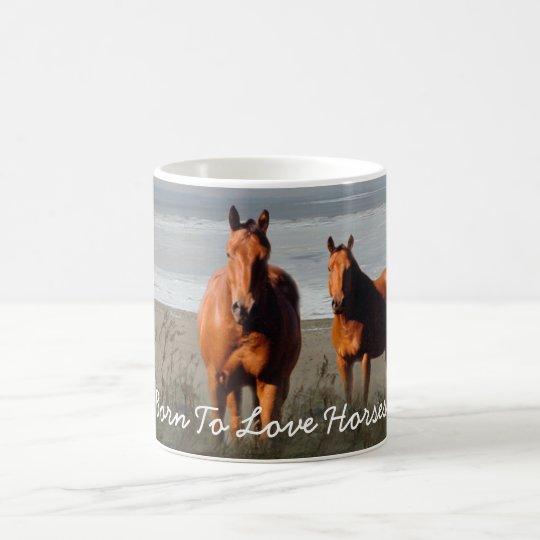 Beach Horses Mug