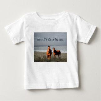 Beach Horses Toddler Unisex T-Shirt