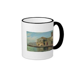 Beach House at Sorrento Ringer Coffee Mug
