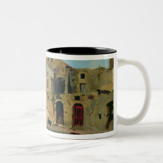 Beach House at Sorrento Two-Tone Coffee Mug