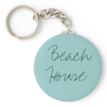 Beach House key chain