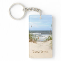 Beach House Keychain