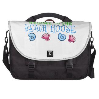 Beach House Laptop Computer Bag