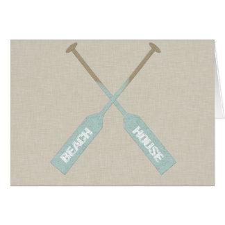 Beach House Oars Card