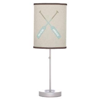 Beach House Oars Desk Lamp