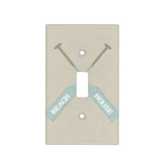 Beach House Oars Light Switch Cover