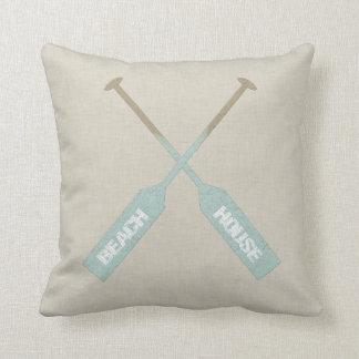 Beach House Oars Pillow