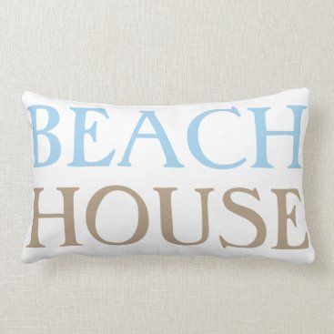 TossandThrow Beach House Pillow