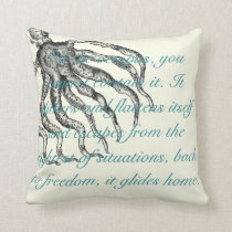 """beach house pillows"" throw pillow"