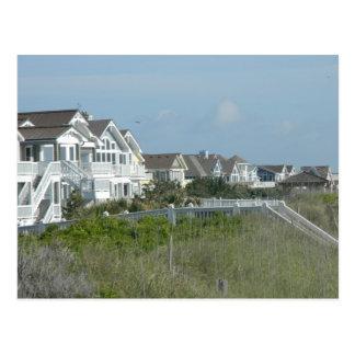 Beach House Real Estate Postcard