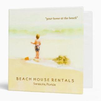"Beach House Rentals Business Binder (1.5"")"