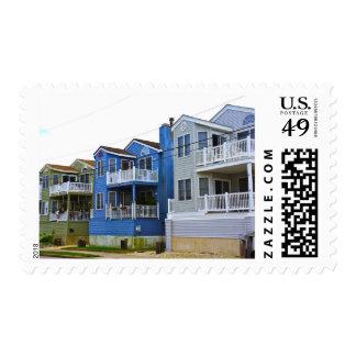 Beach House Row (Ocean City NJ) Postage